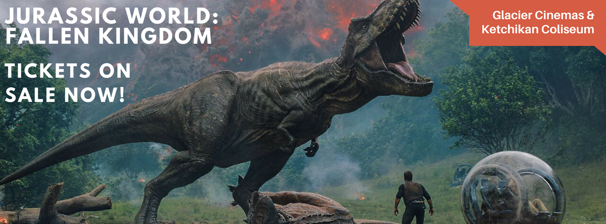 Slider image for Jurassic World: Fallen Kingdom tickets on sale now