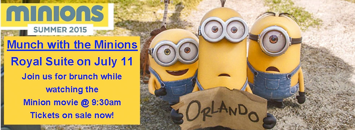 Munch with Minions July 11