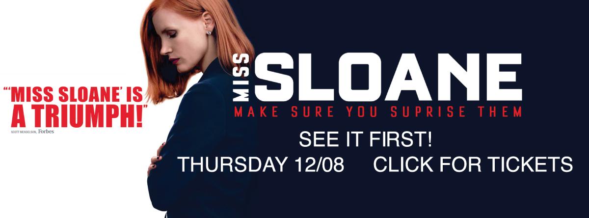 Thursday Screenings#SLOANE