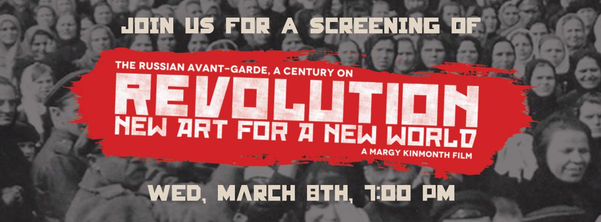 Revolution New Art for a New World