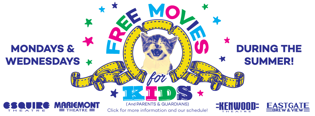 Free Summer Movies for Kids!