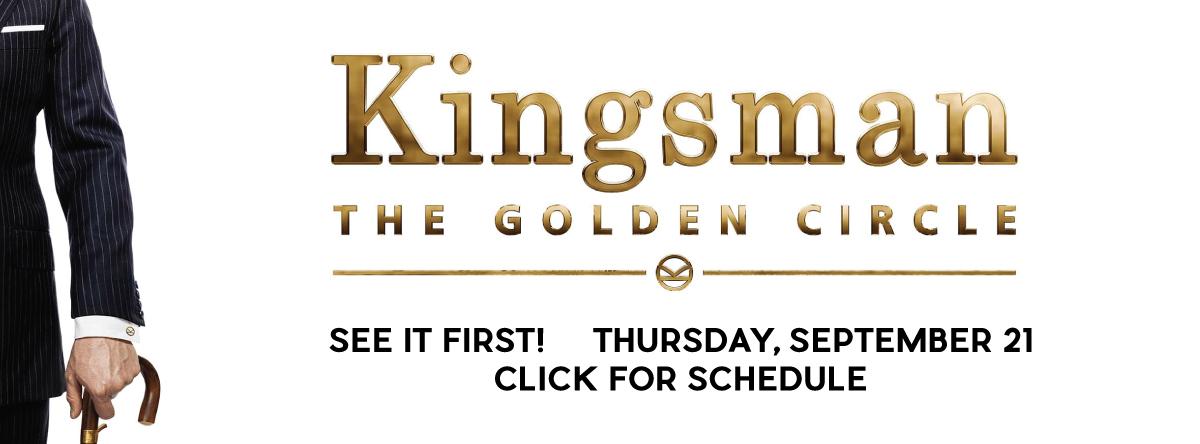 Early Openings and Screenings#kingsman2