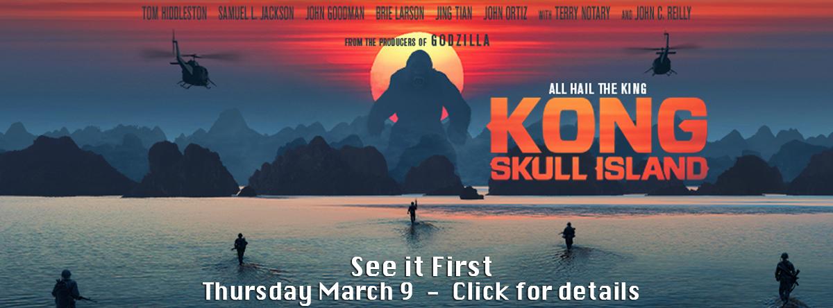 Early Openings and Screenings#Kong