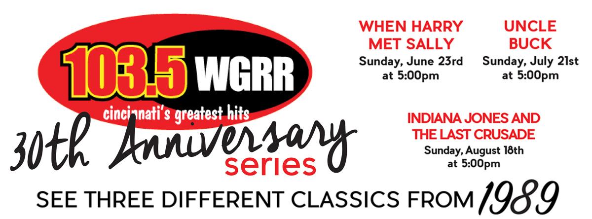 WGRR 30th Anniversary Summer Series