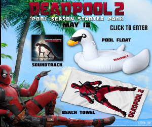 Deadpool 2 Prize Pack