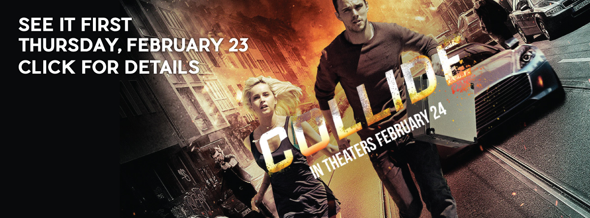 Early Openings and Screenings#Collide
