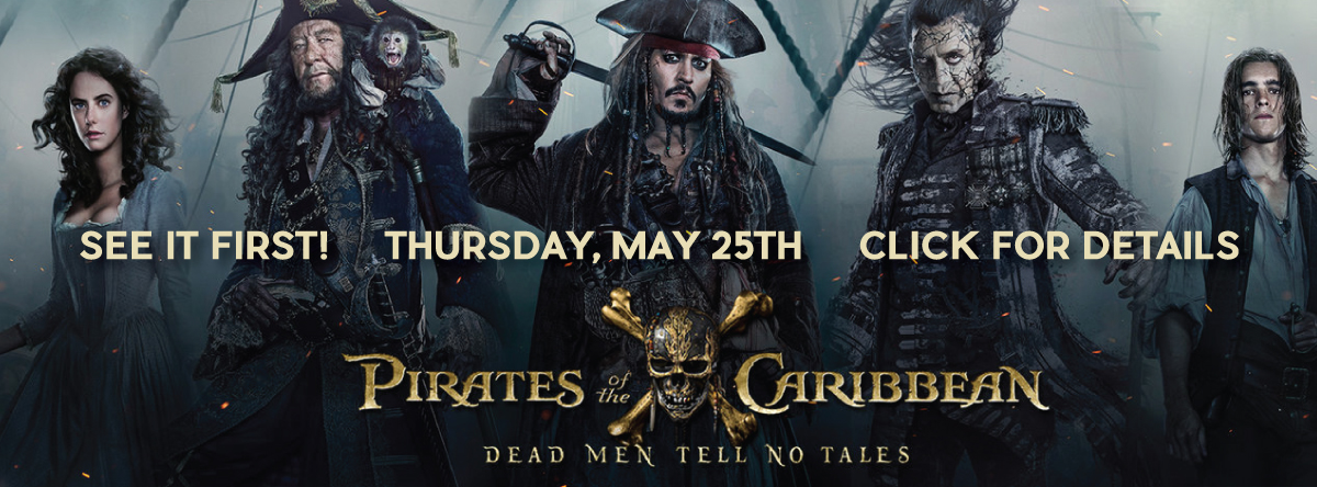 Early Openings and Screenings#Pirates