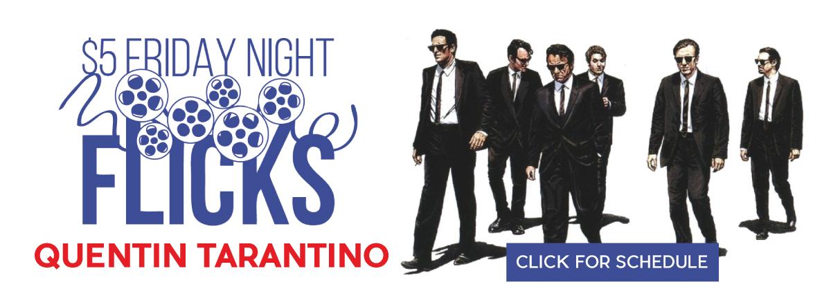 $5 FRIDAY NIGHT FLICKS