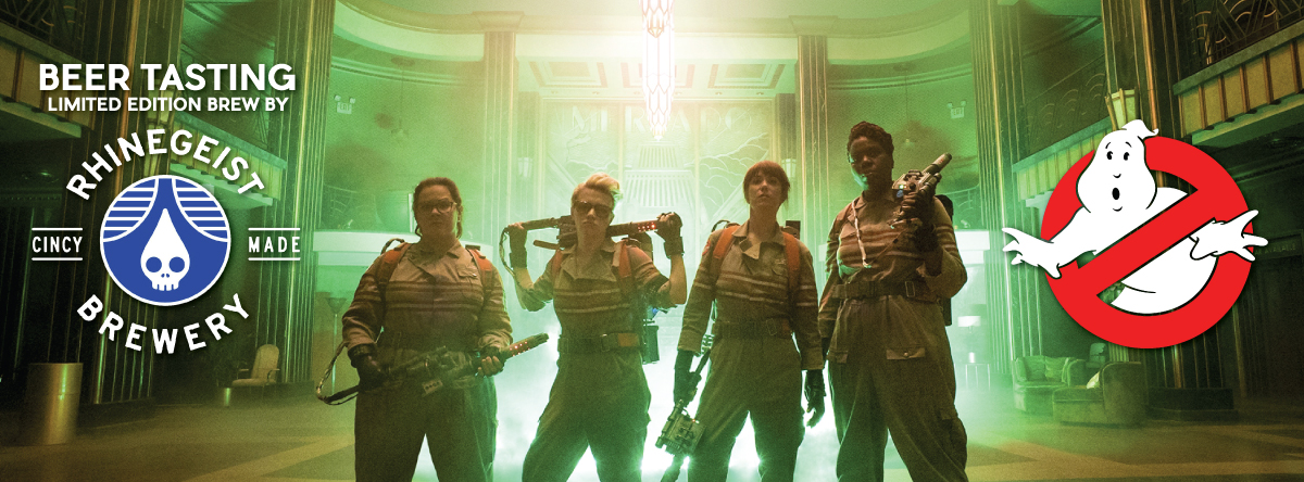 GHEISTBUSTERS! Ghostbusters Party - SAVE THE DATE - JULY 14