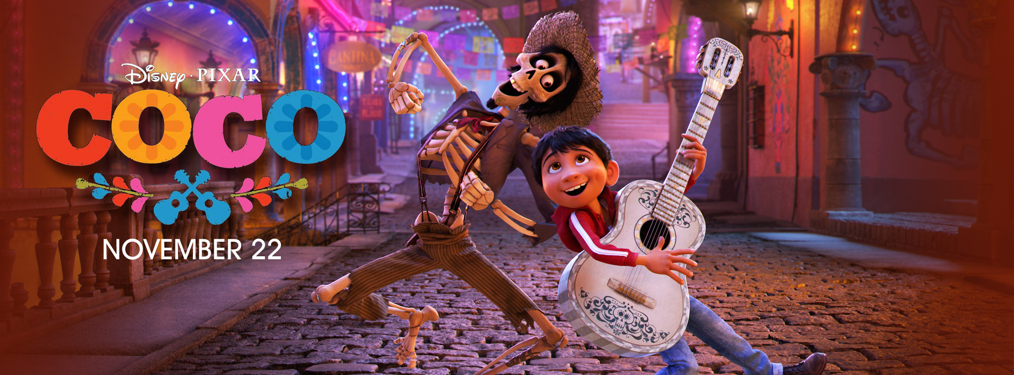 Slider image for Coco, featuring Olaf
