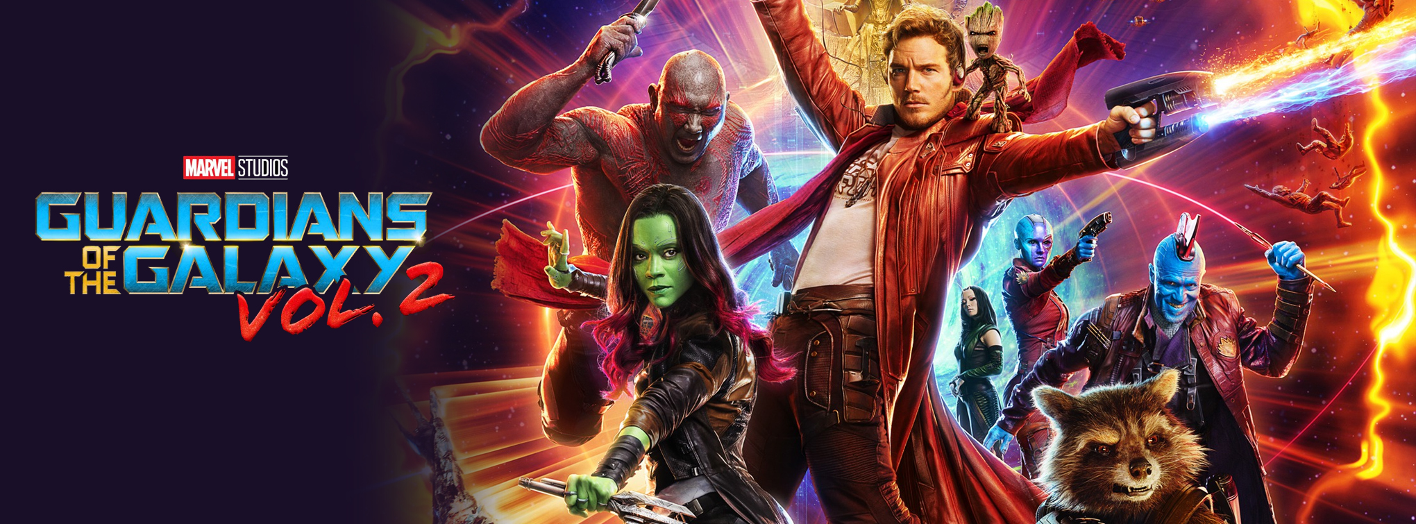 Guardians of the Galaxy Vol. 2 premieres everywhere Thursday, May 4! Tickets on sale now!