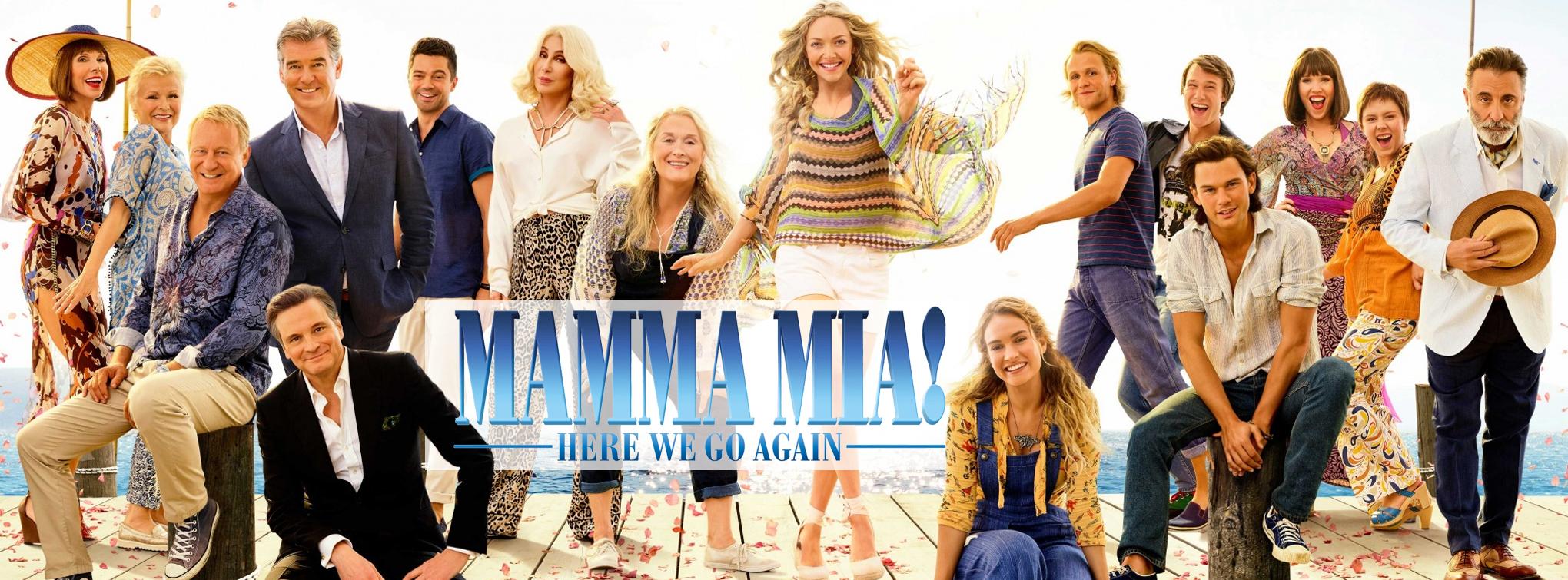 Slider image for Mamma Mia! Here We Go Again