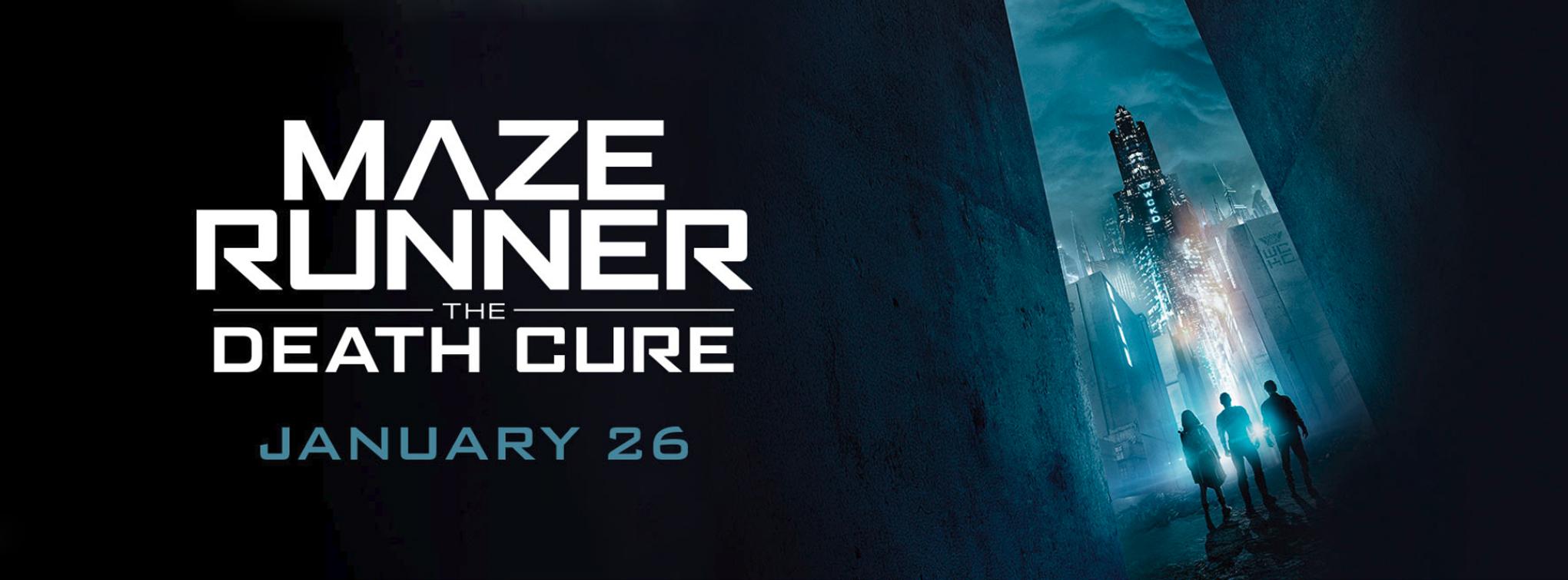 Slider image for Maze Runner: The Death Cure