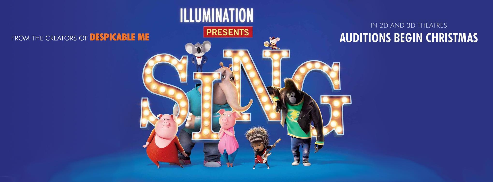 Sing, opens December 22!