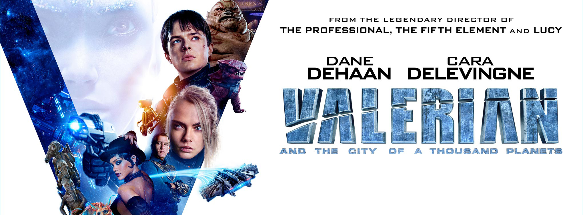 Valerian and the City of a Thousand Planets is now playing!