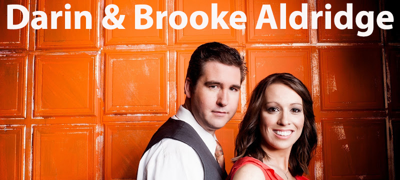 Darin and Brooke Aldridge