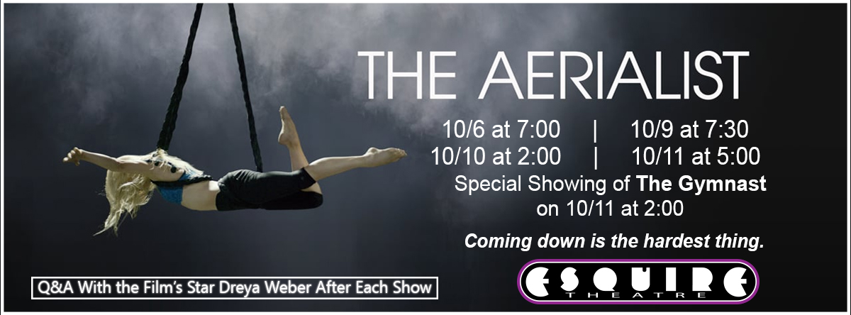 THE AERIALIST   THE GYMNAST