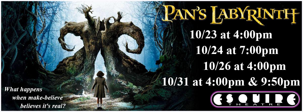 Pans Labyrinth (El laberinto del Fauno)