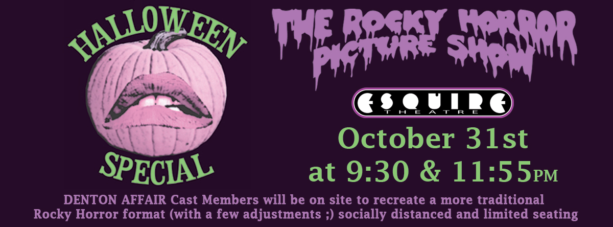THE ROCKY HORROR PICTURE SHOW HALLOWEEN SPECIAL