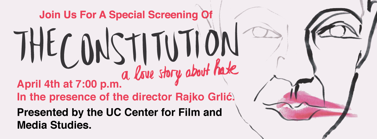 THE CONSTITUTION Screening and QandA in the presence of the director Rajko Grlic.