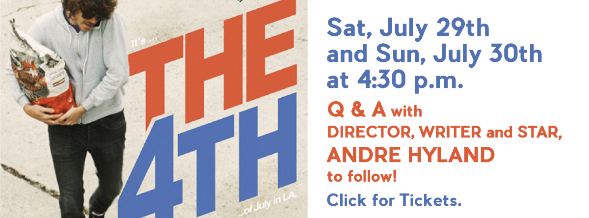 THE 4TH   QandA with Director Writer and Star ANDRE HYLAND!