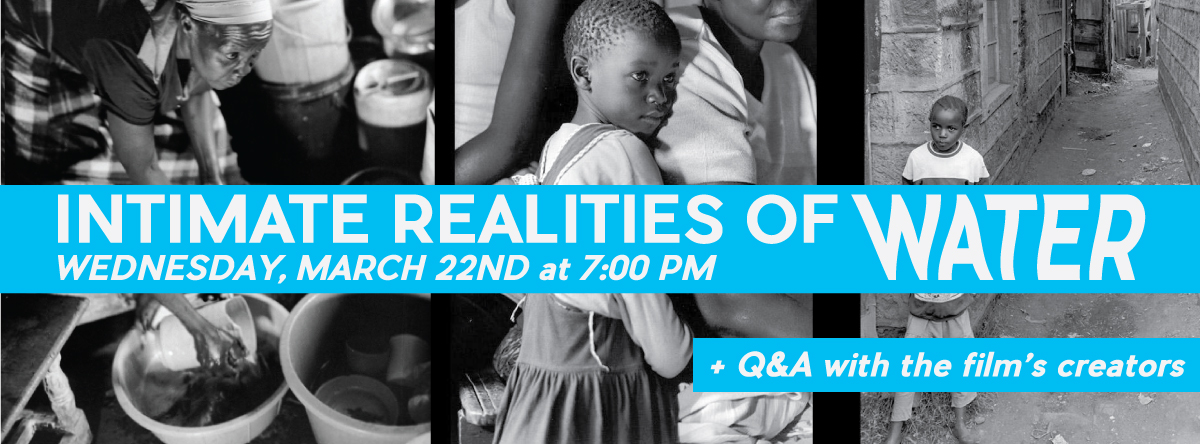 Intimate Realities of Water with QandA
