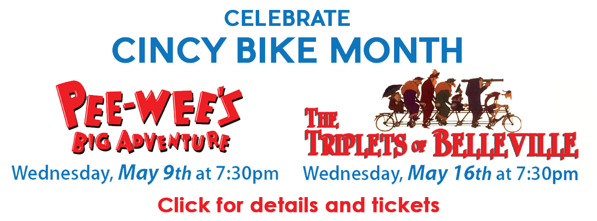 BIKE MONTH Pee Wee and Triplets of Belleville