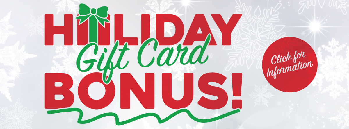 Gift Cards#HOLIDAY