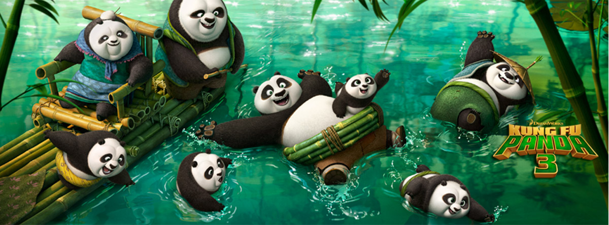 Go with Po to Panda Village