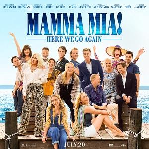 Mama Mia Here We Go Again On Sale Now.