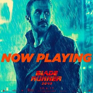Blade Runner 2049 now playing