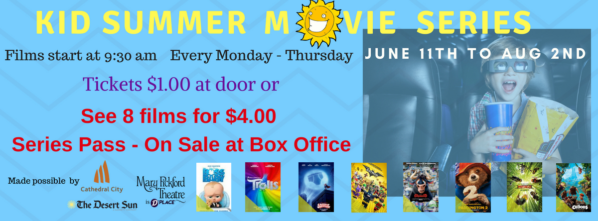 Kids Summer Series On Sale Now