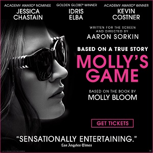 Mollys Game now on sale