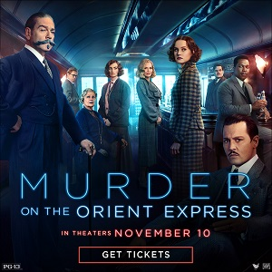Murder On Orient Express Nov 10