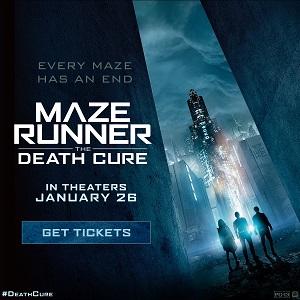 Maze Runner Now On Sale