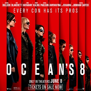 Oceans 8 On Sale Now