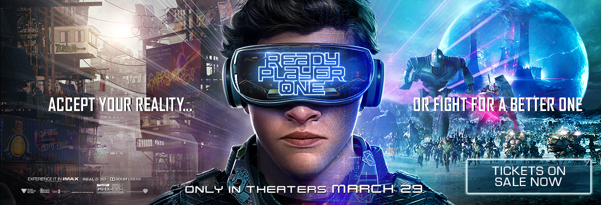 Ready Player One On Sale Now