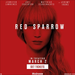 Red Sparrow Now On Sale