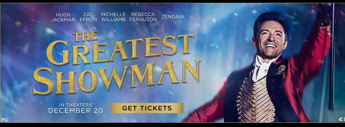 Greatets Showman Tickets Now Available