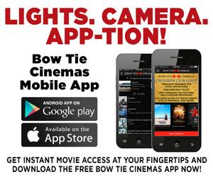 Bow Tie Cinema Mobile App available on iOS and Android