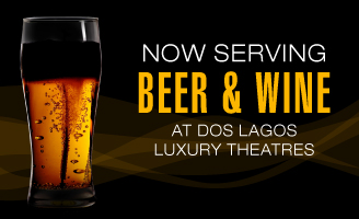 Now serving beer and wine!