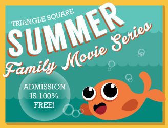 Summer family movie series.  Free Admission.  Click for Schedule