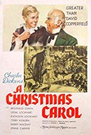 Poster for A Christmas Carol (1938)