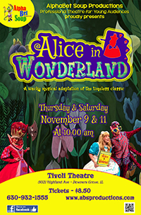 Poster of Alphabet Soup presents Alice in Wonde...