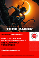 Poster of Making of a Tomb Raider presented by ...
