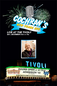 Poster for Cochran's New Years Eve Comedy Tour