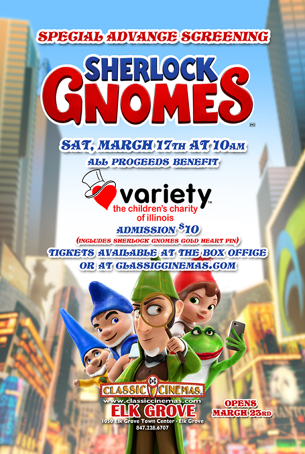 Poster for Variety Charity Fundraiser Screening