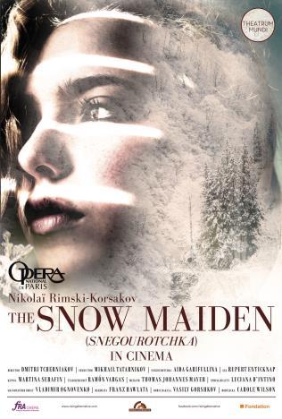 Opera national de Paris: La Fille de neige Poster