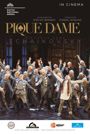 Dutch National Opera: Pique Dame Poster