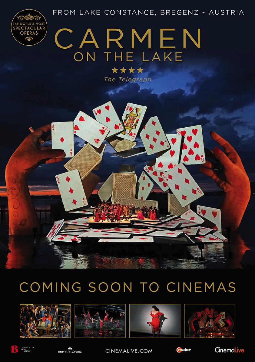 Bregenz Festival: Carmen on the Lake Poster
